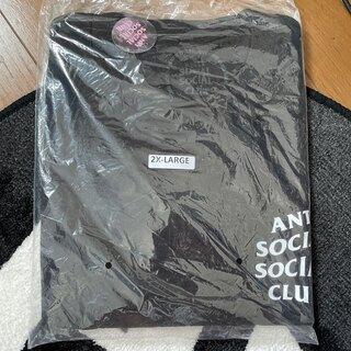 アンチ(ANTI)の【新品】2XL Anti Social Social Club Tシャツ 黒(Tシャツ/カットソー(半袖/袖なし))