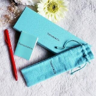 ティファニー(Tiffany & Co.)のTIFFANY&Co. ティファニー ボールペン エルサ・ペレッティ 赤 レッド(ペン/マーカー)
