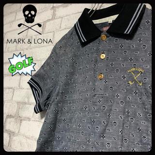 マークアンドロナ(MARK&LONA)の【ゴルフ】MARK & LONA マーク&ロナ/ポロシャツ (ポロシャツ)