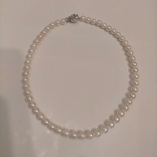 ☆美品☆大玉アコヤ真珠ネックレス(ネックレス)