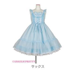 アンジェリックプリティー(Angelic Pretty)のAngelic Pretty Lovely オーガンジー JSK(ひざ丈ワンピース)