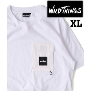 ワイルドシングス(WILDTHINGS)のWILDTHINGS/別注FLAP POCKET TEEフラップポケットTシャツ(Tシャツ/カットソー(半袖/袖なし))
