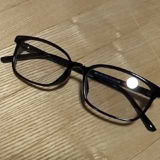 ユニクロ(UNIQLO)の【新品未使用】ユニクロ スクエアクリアサングラス メガネ サングラス 眼鏡(サングラス/メガネ)