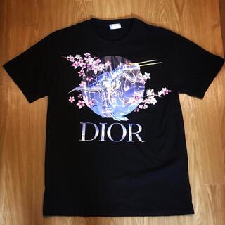 ディオール(Dior)のDIOR × 空山 Tシャツ ディオール SORAYAMA ダイナソー 恐竜(Tシャツ/カットソー(半袖/袖なし))