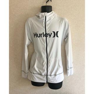 ハーレー(Hurley)のHurley UVケア ラッシュ ガード パーカー サイズ L(サーフィン)