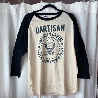 ステュディオダルチザン(STUDIO D'ARTISAN)のSTUDIO D'ARTISAN Tシャツ 7分丈(Tシャツ/カットソー(七分/長袖))