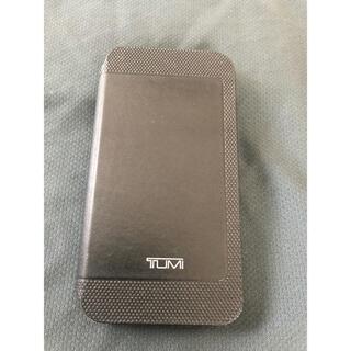 TUMI トゥミ iPhone X 手帳型ケース used