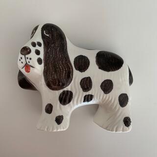 リサラーソン(Lisa Larson)の新品 リサラーソン ケンネル スパニエル 犬(置物)