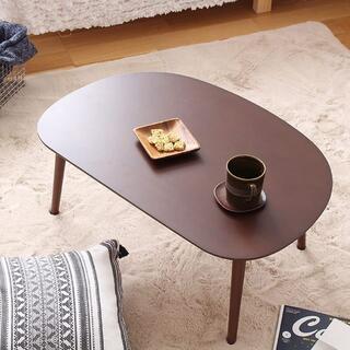 リビングローテーブル ブラウン色 センターテーブル/ちゃぶ台/子供部屋/3010(ローテーブル)
