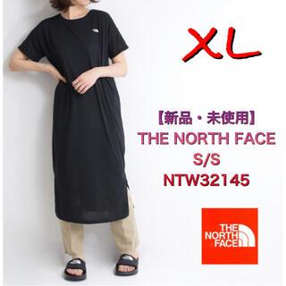 ザノースフェイス(THE NORTH FACE)の【新品・未使用】THE NORTH FACE  XL 黒 ワンピース(ひざ丈ワンピース)