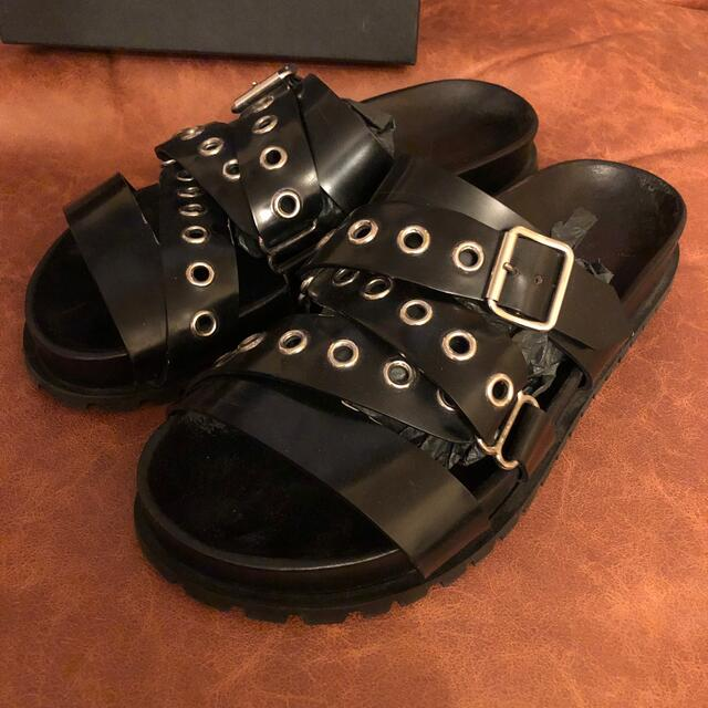 Jil Sander(ジルサンダー)のJIL SANDER ジルサンダー サンダル 41 lemaire hermes メンズの靴/シューズ(サンダル)の商品写真