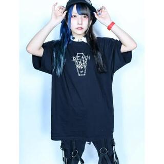 ミルクボーイ(MILKBOY)のKRY SICK ドクロ 骸骨 オーバーサイズ BIG Tシャツ(Tシャツ/カットソー(半袖/袖なし))