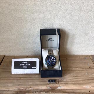 エディフィス(EDIFICE)の腕時計 カシオ 5560 JA スマートフォンリンク EQB-900(腕時計(アナログ))