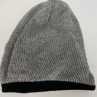 ナンバーナイン(NUMBER (N)INE)の希少 ナンバーナイン バルーンニット ニット帽 ビーニー ニットキャップ(ニット帽/ビーニー)