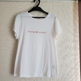 アプワイザーリッシェ(Apuweiser-riche)のアプワイザーリッシェ Tシャツ 白 シンプル ❀(Tシャツ(半袖/袖なし))