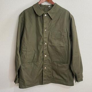 COMOLI - フレンチワークジャケット フランス軍 メタルボタン ヘリンボーン 60年代?