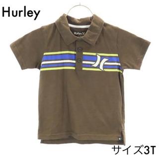 ハーレー(Hurley)のハーレー 半袖ポロシャツ 3T ブラウン Hurley(Tシャツ/カットソー)