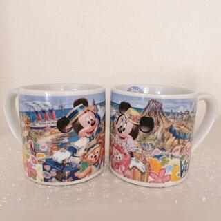 ダッフィー(ダッフィー)の東京ディズニーリゾート スプリングヴォヤッジ マグカップ 2個セット(グラス/カップ)