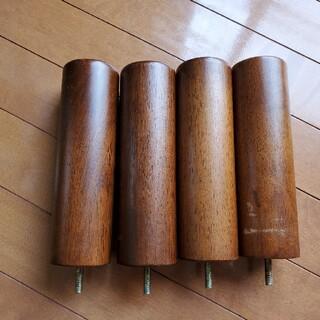 ムジルシリョウヒン(MUJI (無印良品))の【旧タイプ】無印良品足付きマットレスの足 20センチ(脚付きマットレスベッド)