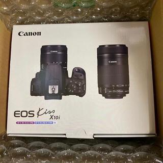 キヤノン(Canon)のCanon EOS Kiss X10i ダブルズームキット(デジタル一眼)