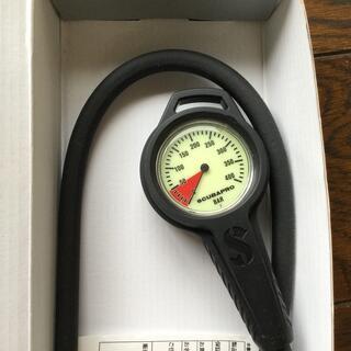 スキューバプロ(SCUBAPRO)のScubapro 残圧計 400気圧対応 正規保証付き(マリン/スイミング)