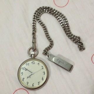 アニエスベー(agnes b.)のジャンク★アニエスベー懐中時計(腕時計)