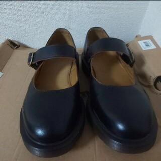 ドクターマーチン(Dr.Martens)のドクターマーチン ワンストラップシューズ uk4 黒 ブラック indica(ローファー/革靴)