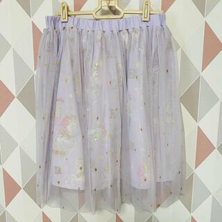 ディズニー(Disney)のラプンツェル チュールスカート(ひざ丈スカート)