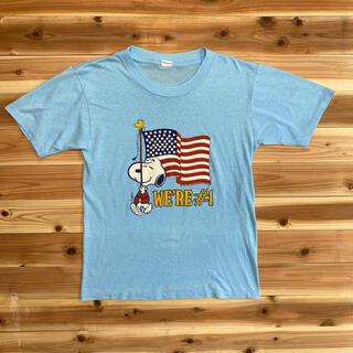 スヌーピー(SNOOPY)の70s80sスヌーピーTシャツARTEX(Tシャツ/カットソー(半袖/袖なし))
