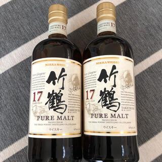ニッカウイスキー(ニッカウヰスキー)の竹鶴 17年 2本 貴重 終売品(ウイスキー)