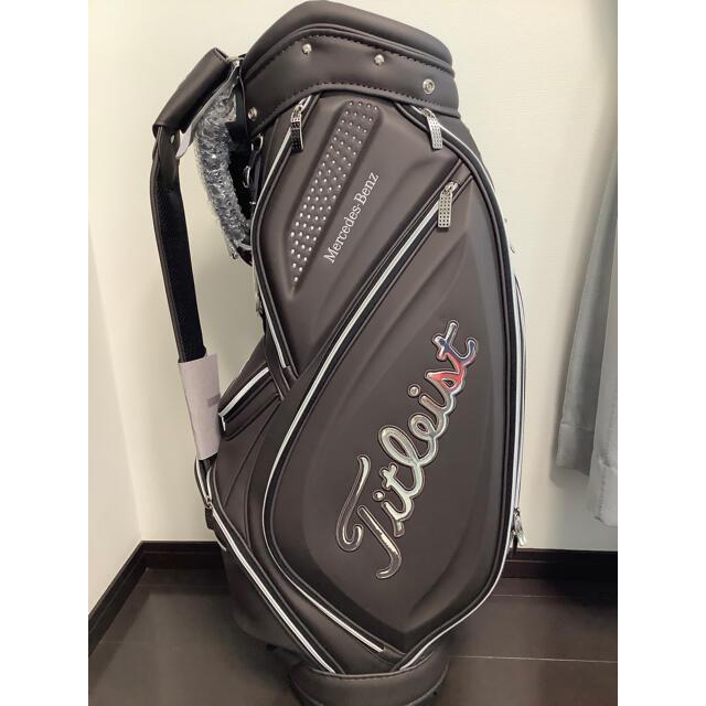 Titleist(タイトリスト)のtomohiko様専用 タイトリスト ベンツ キャディバッグ  未使用・新品 スポーツ/アウトドアのゴルフ(バッグ)の商品写真