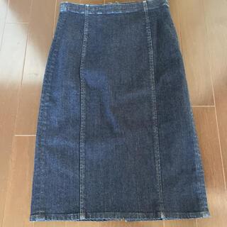 ポロラルフローレン(POLO RALPH LAUREN)のポロラルフローレン  デニムタイトスカート(ひざ丈スカート)