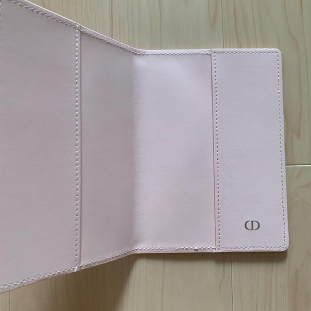 Christian Dior(クリスチャンディオール)の【最終値下げ】新品未使用 ミラー&手帳カバー セット レディースのファッション小物(ミラー)の商品写真
