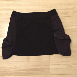 トランク(TRUNK)の美品 TRUNK/ヒロココシノ お洒落なかっこいいタイトめスカート  サイズ38(ミニスカート)