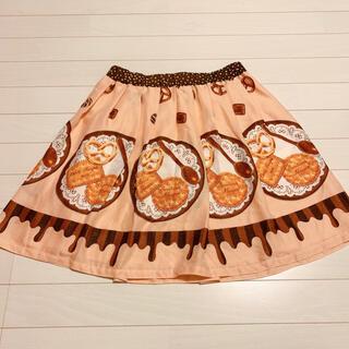 エミリーテンプルキュート(Emily Temple cute)のエミリーテンプルキュートチョコ&ビスケット柄スカート(ミニスカート)