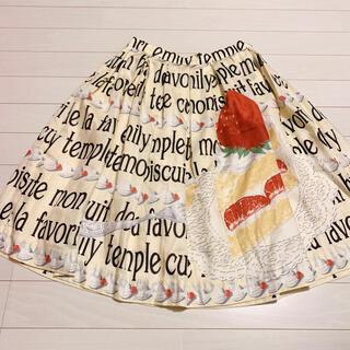 エミリーテンプルキュート(Emily Temple cute)のエミリーテンプルキュート苺ショートケーキスカート(ひざ丈スカート)