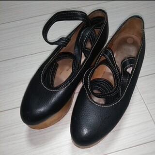 ヴィヴィアンウエストウッド(Vivienne Westwood)の!※取り置き中※!【現在廃盤】ロッキンホースバレリーナUK6黒【入手困難】(ローファー/革靴)