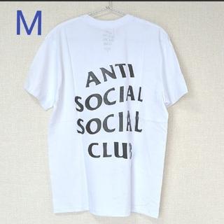 アンチ(ANTI)のANTI SOCIAL SOCIAL CLUB Tシャツ ホワイト M(Tシャツ/カットソー(半袖/袖なし))