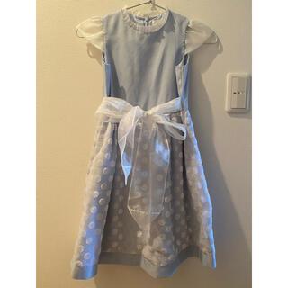 ミキハウス(mikihouse)のミキハウス   ワンピース 130センチ(ドレス/フォーマル)