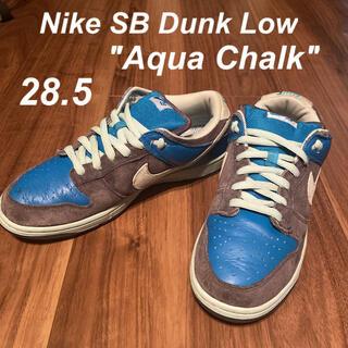 """ナイキ(NIKE)のNike SB Dunk Low """"Aqua Chalk""""(スニーカー)"""