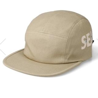 シー(SEA)のWIND AND SEA (INITIAL) CAMP CAP / BEIGE(キャップ)