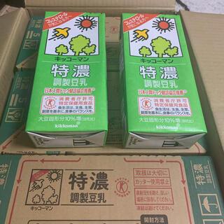 キッコーマン(キッコーマン)のキッコーマン 特濃 調整豆乳 1000mLx18本(豆腐/豆製品)