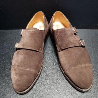 トリッカーズ(Trickers)のトリッカーズ(Tricker's)LeavenWorth スエード革靴 UK9 (ドレス/ビジネス)