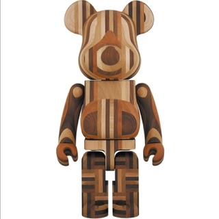 BE@RBRICK カリモク 寄木 1000%(その他)