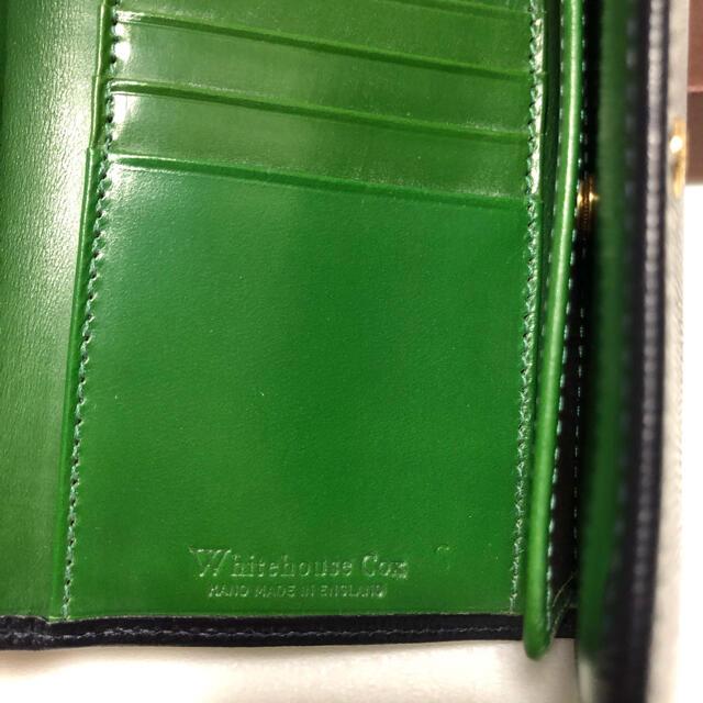 WHITEHOUSE COX(ホワイトハウスコックス)のWhitehouse Coxホワイトハウスコックス ホリデーライン三つ折り財布  メンズのファッション小物(折り財布)の商品写真