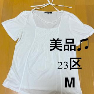 ニジュウサンク(23区)の23区 半袖 M(Tシャツ(半袖/袖なし))