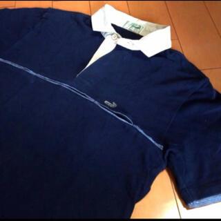 クロコダイル(Crocodile)のクロコダイルネイビーコットンポケツトシャツ(シャツ)