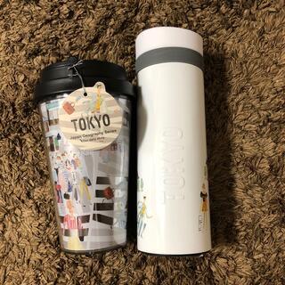 スターバックスコーヒー(Starbucks Coffee)のスターバックス 25周年セット タンブラー 東京 新品未使用(タンブラー)