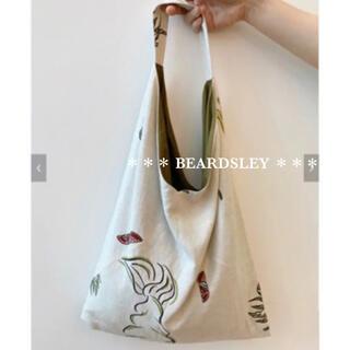 ビアズリー(BEARDSLEY)の新品 18700円 BEARDSLEY ビアズリー マーメイド プリント バッグ(トートバッグ)