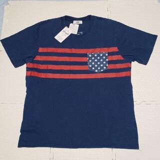 ロデオクラウンズワイドボウル(RODEO CROWNS WIDE BOWL)のRCWB ロデオクラウンズ バックプリントロゴ 半袖Tシャツ 新品タグ付き(Tシャツ/カットソー(半袖/袖なし))